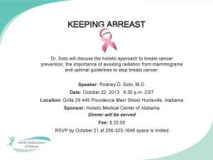 Keeping A Breast.pptx Oct 22, 2013 talk